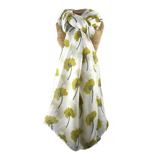 Daisy Pattern scarf