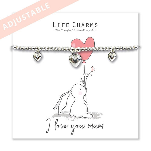 I Love You Mum Bracelet