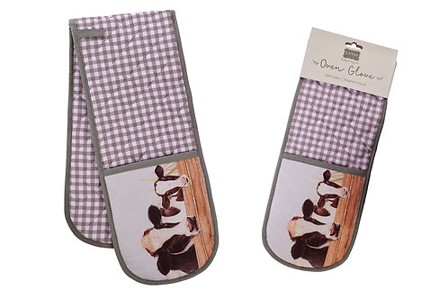 Farm life oven gloves
