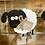 Thumbnail: Standing wooden sheep
