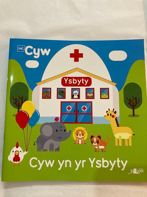 Cyw yn yr Ysbyty