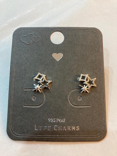 Starlight  stud earrings