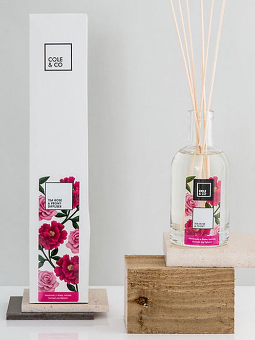 Tea Rose and Peony diffuser