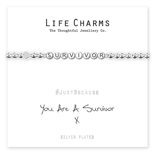 You are a Survivor - Life Charm