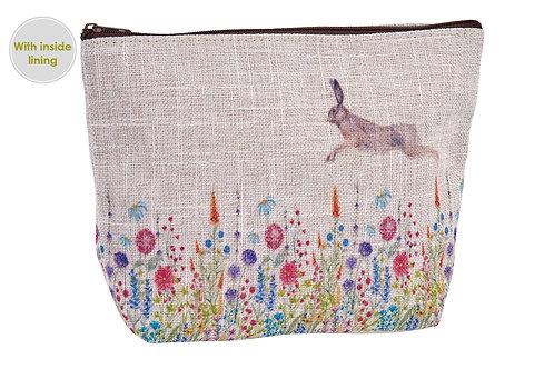 Hare make up bag
