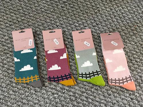 Sheep Meadow Ladies Socks