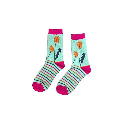 Ladies Floral socks