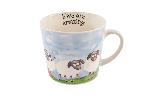 Ewe are amazing mug