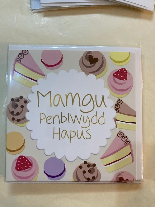Mamgu Penblwydd Hapus