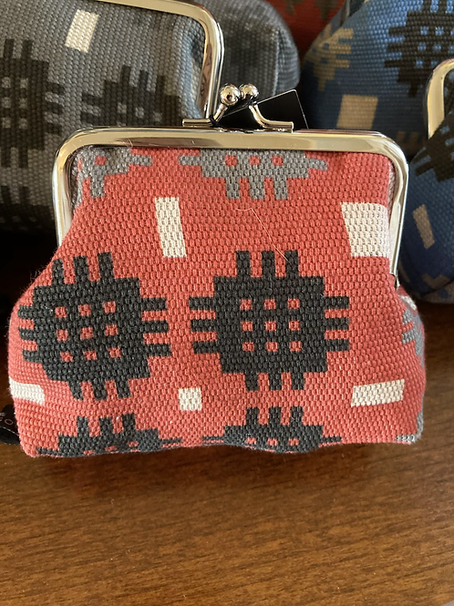 Tapestry print purse