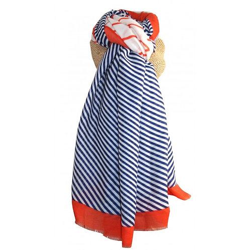 Zig Zag pattern scarf