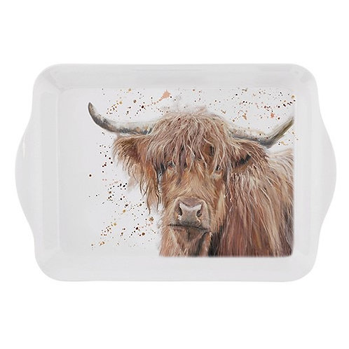 Highland cow small tray