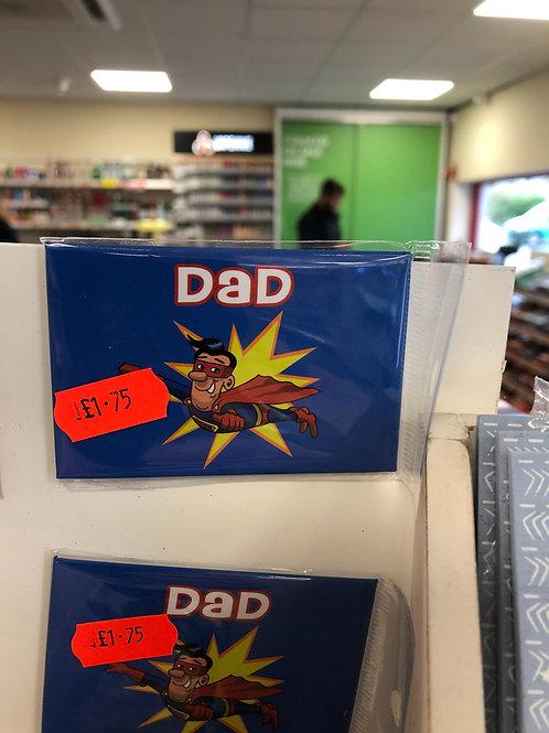 Magned Dad Magnet