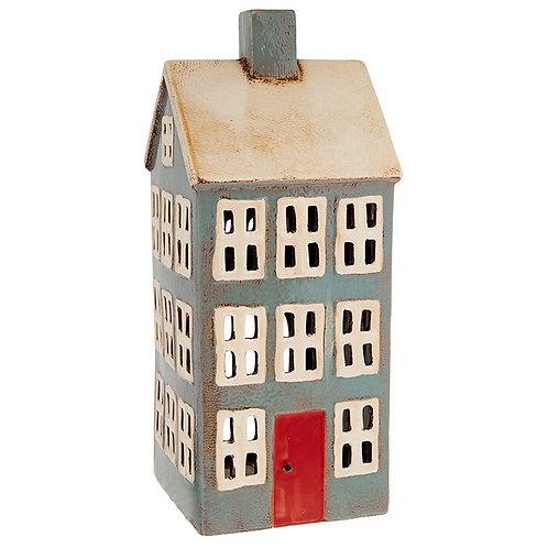 XLarge Grey House Tealight