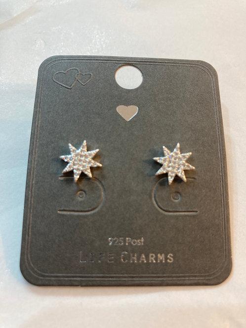 Sunburst Star Earrings