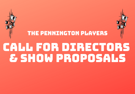 We're Looking for Directors & Show Proposals!