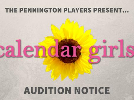 CALENDAR GIRLS - Casting Call - The Pennington Players