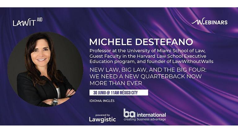 MICHELE DESTEFANO: NEW LAW