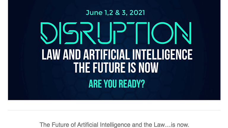 Law & Artificial Intelligence The Future is Now