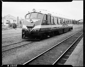 "RM 34 ""TAINUI""at Woburn Station  R.A.O. Morgan - 22 March 1951"