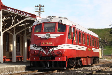 RM31 at Ormondville Station - Image: T S