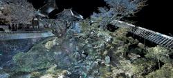 金岡光輝園の3Dスキャナ技術