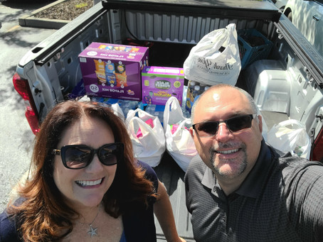 Delivered Donations to KOA for Caldor Fire Victims