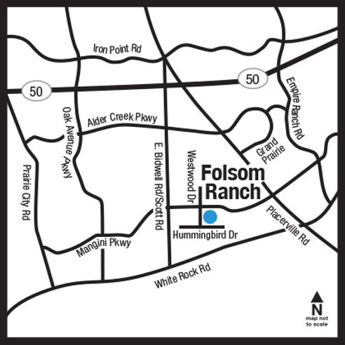 Folsom Ranch Map