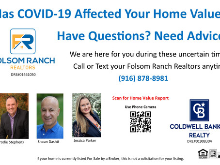 Your Home Value and COVID-19