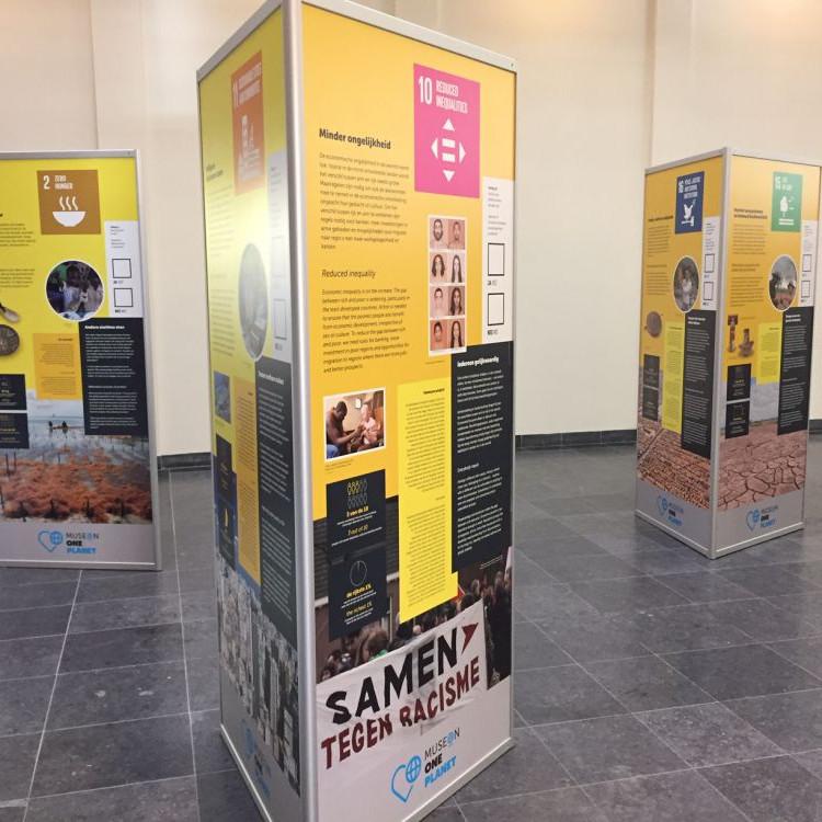 Global Goals exposities in Delft