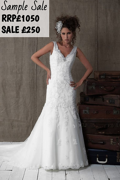 Sample sale at the bridal room atherstone