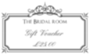 The Bridal Room Atherstone Gift Vocuhers