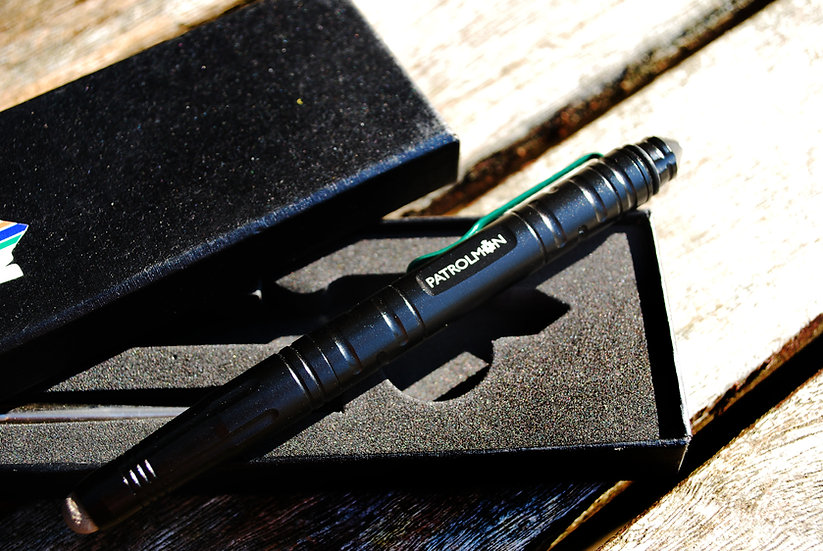 Slim Thin Green Line Tactical pen