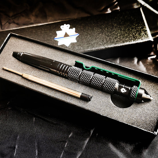 Twist lock Thin Green Line Tactical pen