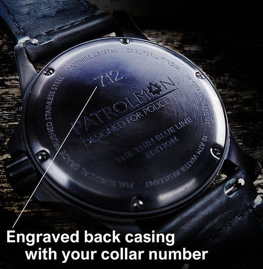 Have your collar number engraved on the Enforcer.