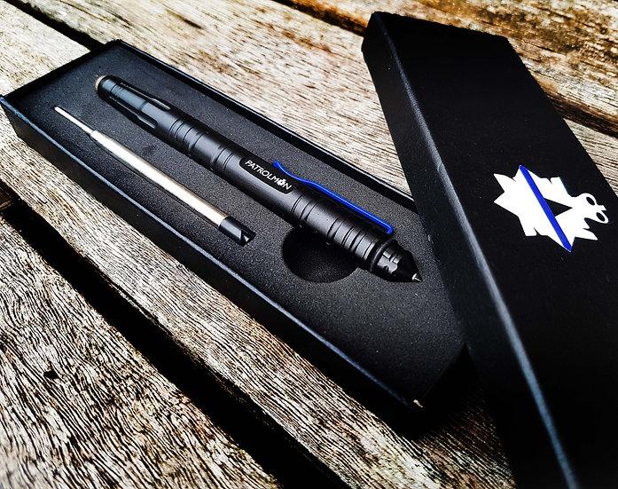 Slim Thin Blue Line Tactical pen