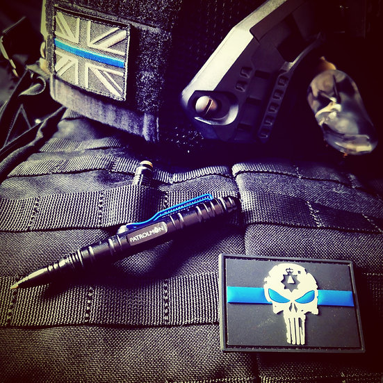 Slim Thin Blue Line Tactical pen