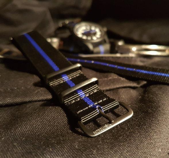 Thin Blue Line NATO strap
