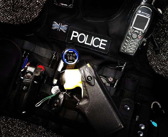 Patrolman Responder digital watch