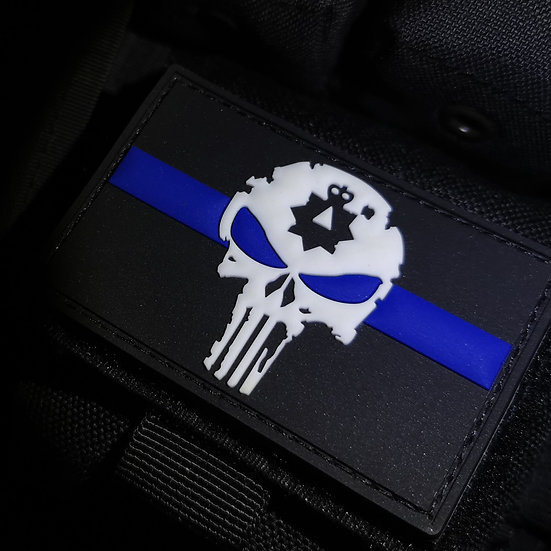 PVC 'Glow in the dark' morale patch