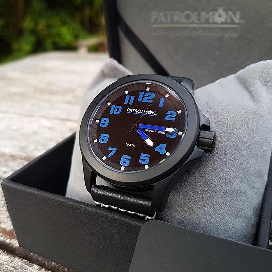 Solid Blue Enforcer watch