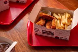 fish an chips caixinha