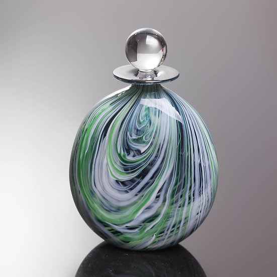 Fibre Perfume Bottle - Lime