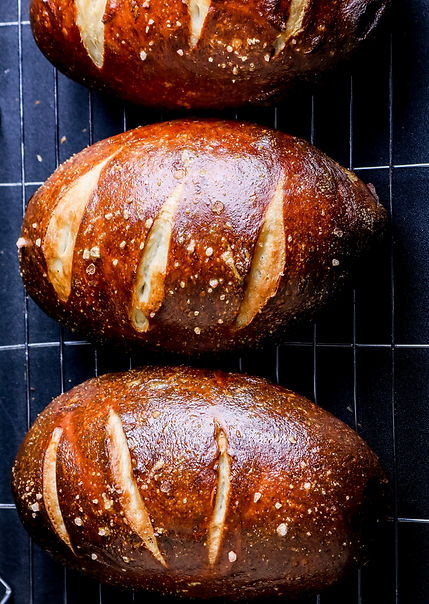 Pretzel loaves