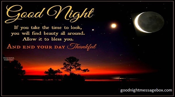 Love for night her poems Sweetest Goodnight