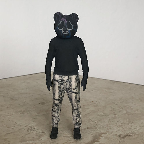 Night Panda Action Figure