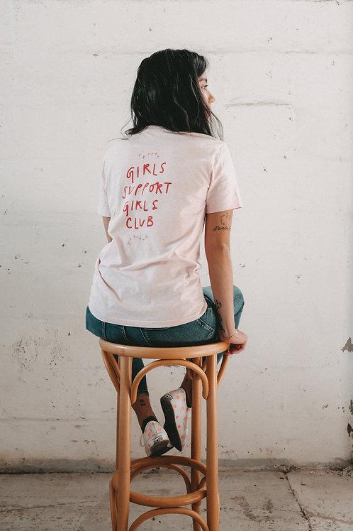 T-Shirt 'Girls Support Girls Club'