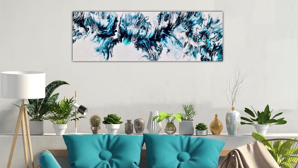 "Electric Series | #1 (12 X 36"")"