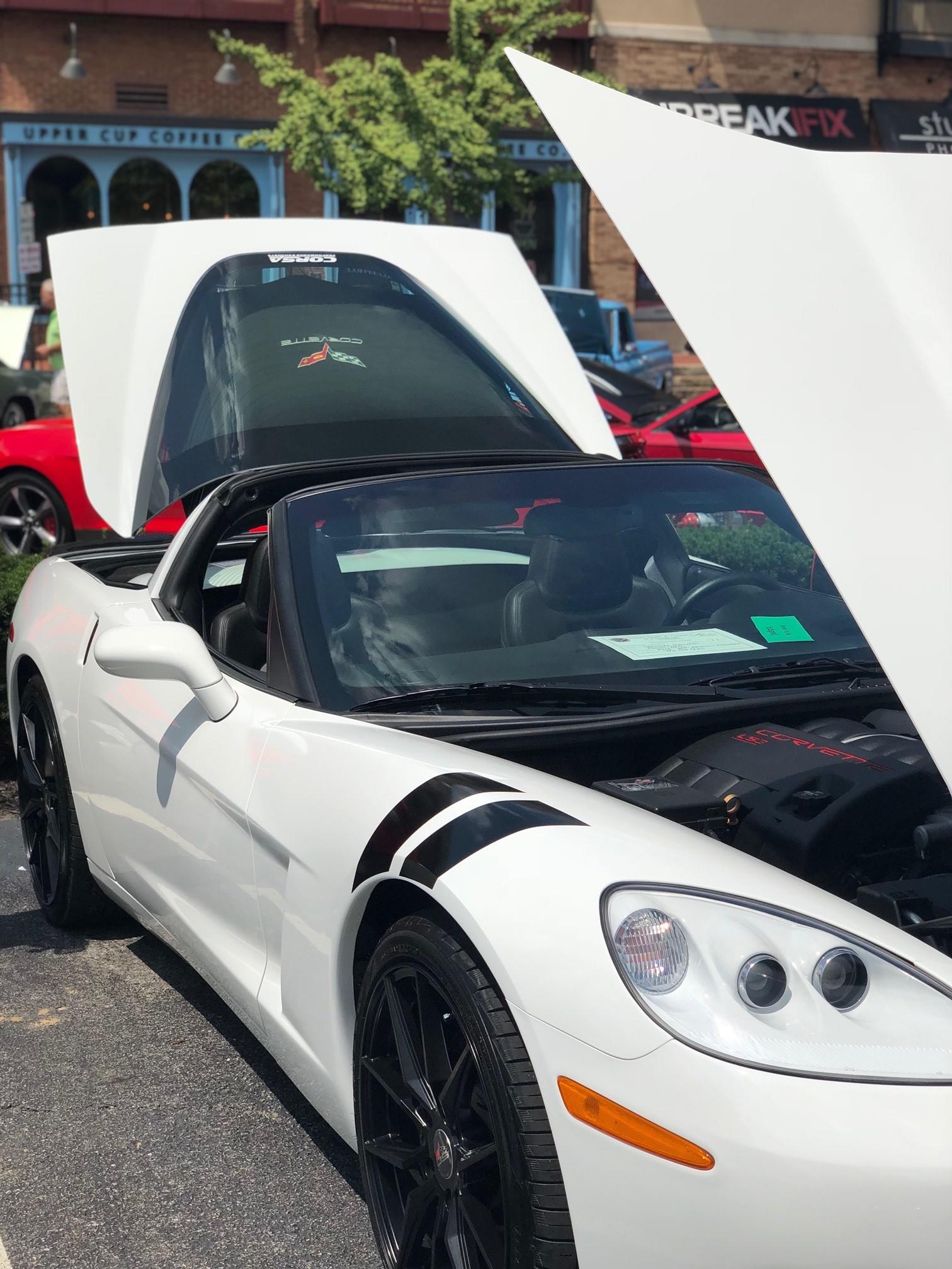 Amanda and John Hamilton's car