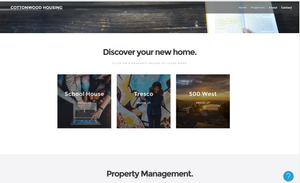 Room Choice Corporate Site with Three Properties